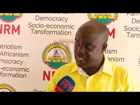 Amama Mbabazi wa kwetaba mu lukiiko lwa NRM e Ntebe