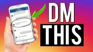 7 EASY DMS That Make Him INSTANTLY Respond