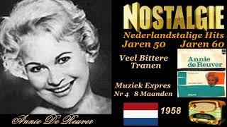 Annie De Reuver   Veel Bittere Tranen 1958