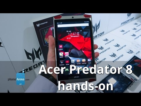 Acer Predator 8 hands-on