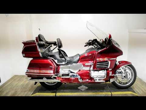 1999 Honda Goldwing SE in Wauconda, Illinois - Video 1