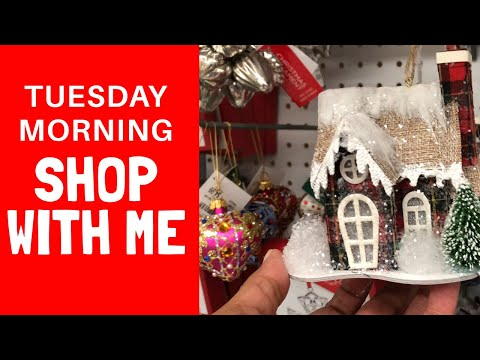 Christmas Shop With Me ~ TUESDAY MORNING ~ EARLY BIRD Gets The Santa🎅🏻🎅🏼🎅🏽🎅🏾🎅🏿