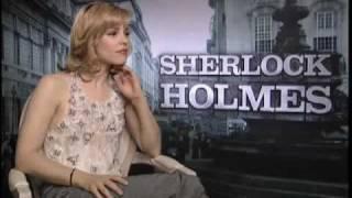 Рэйчел МакАдамс, Sherlock Holmes - Rachel McAdams Interview