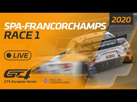 ト-タル・スパ24時間 GT4 レース1のライブ配信動画