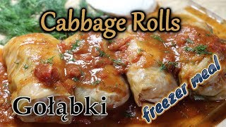Cabbage Rolls-Gołąbki (Easy Freezer Meals)