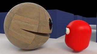 Giant Granite Pac in Pacman Classic Arcade
