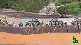 Itubombas - Obra de Captação de Água (Barragem Germano) para a Samarco