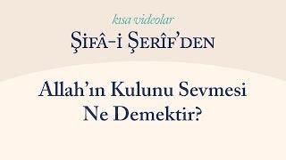 Kısa Video: Allah'ın Kulunu Sevmesi Ne Demektir
