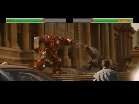 Hulk vs Hulkbuster...with healthbars