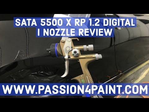 SATA JET 5500 X RP DIGITAL 1.2 i Nozzle Spray Gun Review