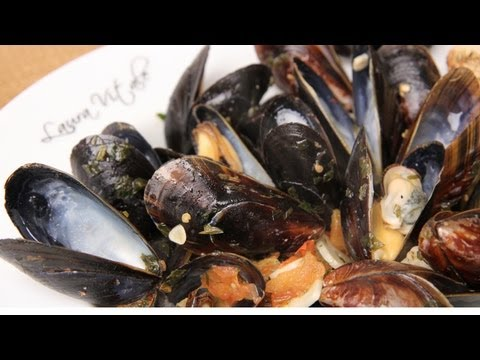 Mussels in Spicy Broth Recipe – Laura Vitale – Laura in the Kitchen Episode 260