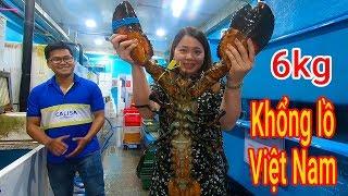 Xem con Tôm hùm Alaska khổng lồ nhất thế giới ở Sài Gòn như thế nào ???