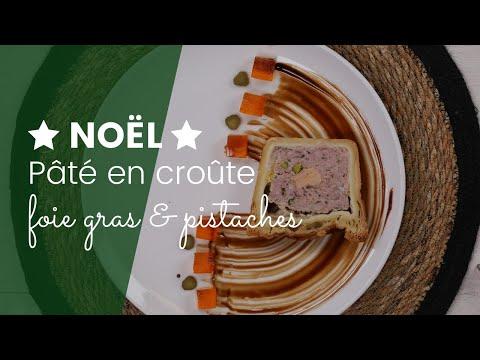 Paté en croûte au foie gras