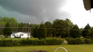 preview picture of video 'April 16, 2011 Tornado near Wilson NC'