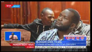 Prolific blogger Cyprian Nyakundi sentenced to four months in jail for contempt of court