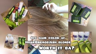 DIY HAIR COLOR AT HOME|BREMOD|WORTH IT BA?|AFFORDABLE|ASH BLONDE 🧖🏻‍♀️