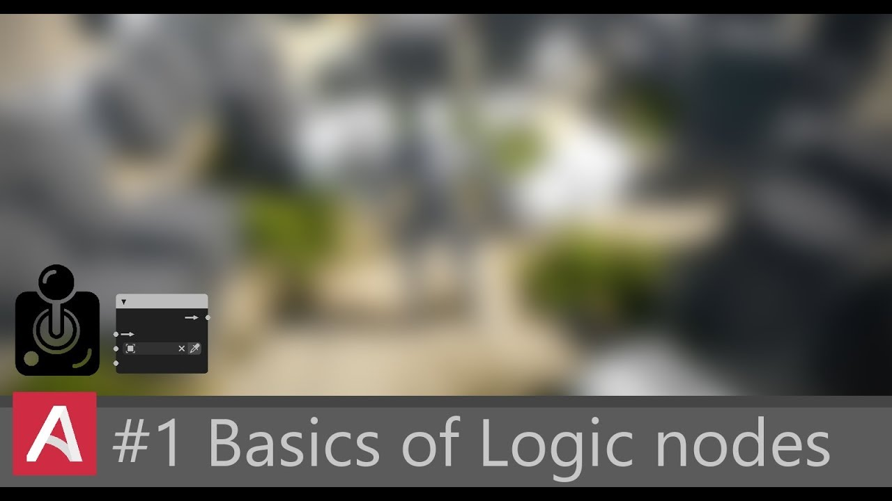 Armory3D | Absolute Beginner | Basics of Logic Nodes | #1