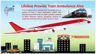 Lifeline Air Ambulance Services in Bagdogra with Expert Crew and ICU