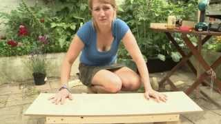 How To Make A Bench: DIY Video