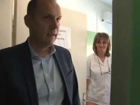 Ministar Loncar u poseti Domu zdravlja u Raski