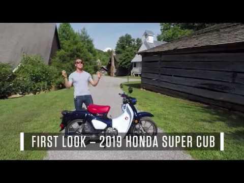 2019 Honda Super Cub – First Look Review