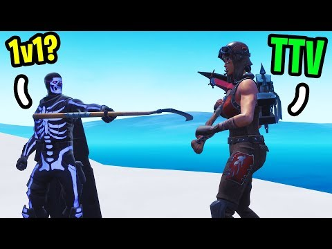 Every Twitch Streamer that kills me on Fortnite I challenge to a 1v1!