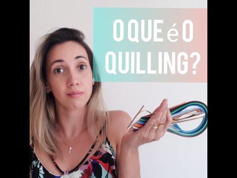 O que é Quilling?