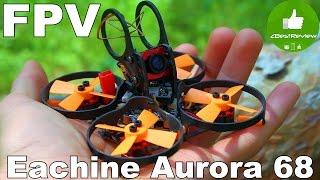 ✔ Мини FPV Квадрокоптер Eachine Aurora 68. F3, OSD, 48CH, 25mW. 😀 Banggood