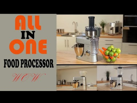 All in One Kenwood Cooking Chef Attachments|| Unboxing & Review|| food processor, blender, Ice Crush