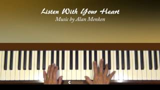 Listen with Your Heart Pocahontas Piano Tutorial