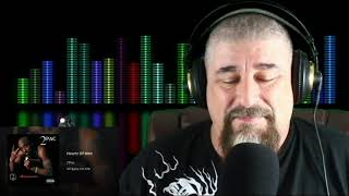 Metal Biker Dude Reacts - Tupac Heartz Of Men REACTION