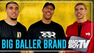 LaVar, LiAngelo & LaMelo Ball on JBA League, LeBron Coming to The Lakers & A Lot more
