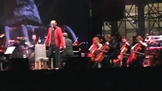 FRANCO BATTIATO- LIVE PIAZZA DEL PLEBISCITO, NAPOLI- CENTRO DI GRAVITA' PERMANENTE