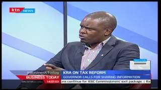 Business Today: Gordon Mutugi, KRA on Tax reform as National Taxpayer month begins, 4/10/16