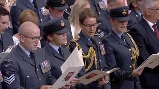 Guide Me, O Thou Great Redeemer - RAF Centenary Service 2018