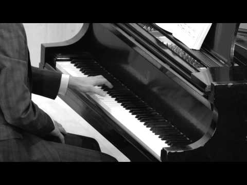 Samuel Barber's Sonata, Op. 26 in a recital on May 1st, 2014 at Temple University's Rock Hall Auditorium.