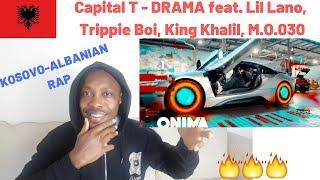UK REACTION TO Capital T   DRAMA Feat. Lil Lano, Trippie Boi, King Khalil, M.O.030