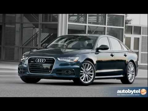 2012 Audi A6: Video Road Test and Review