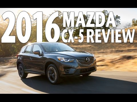 Best SUV of 2016? Watch Mazda CX 5 Test Drive and Review