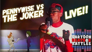 Pennywise VS The Joker - Cartoon Beatbox Battles Live