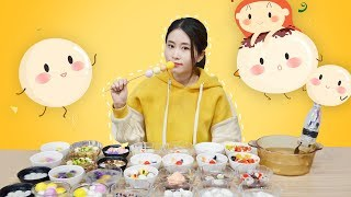 E42 Making sticky rice balls at office!| Ms Yeah