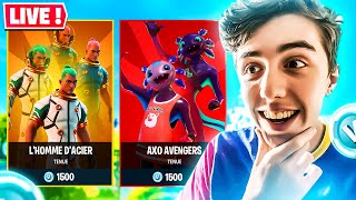 🎁 BOUTIQUE FORTNITE Du 6 Août 2020 ! Code : PowerJumper