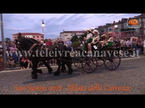 Preview video San Savino 2018, Ivrea - La Sfilata delle Carrozze