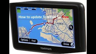 Map Updates 2018 TomTom Gps Devices