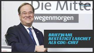 Laschet ist CDU-Vorsitzender