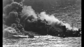 The Sinking of the Reuben James - The Weavers - (Lyrics)