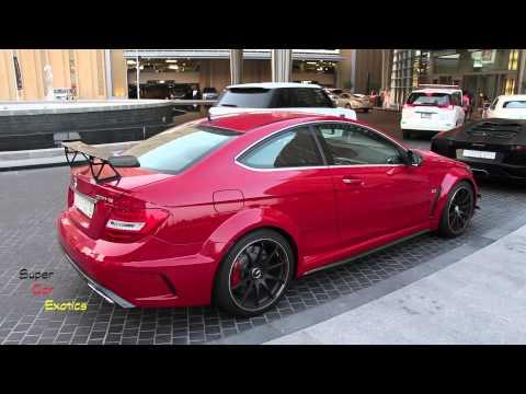 C63 AMG Coupe Black Series Mercedes-Benz (Dubai)
