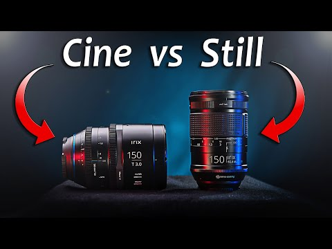 The REAL difference between CINE & STILLS lenses