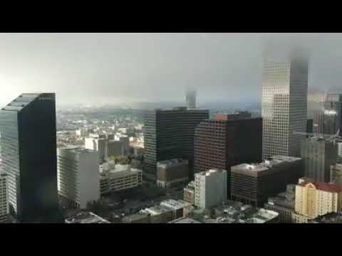Crazy clouds move over New Orleans as cold front arrives Jan. 16, 2017
