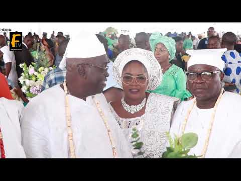BOLA HAMMED TINUBU AND IYALOJA GENERAL IN ANNUAL REMEMBRANCE OF THEIR MOTHER IN LAGOS